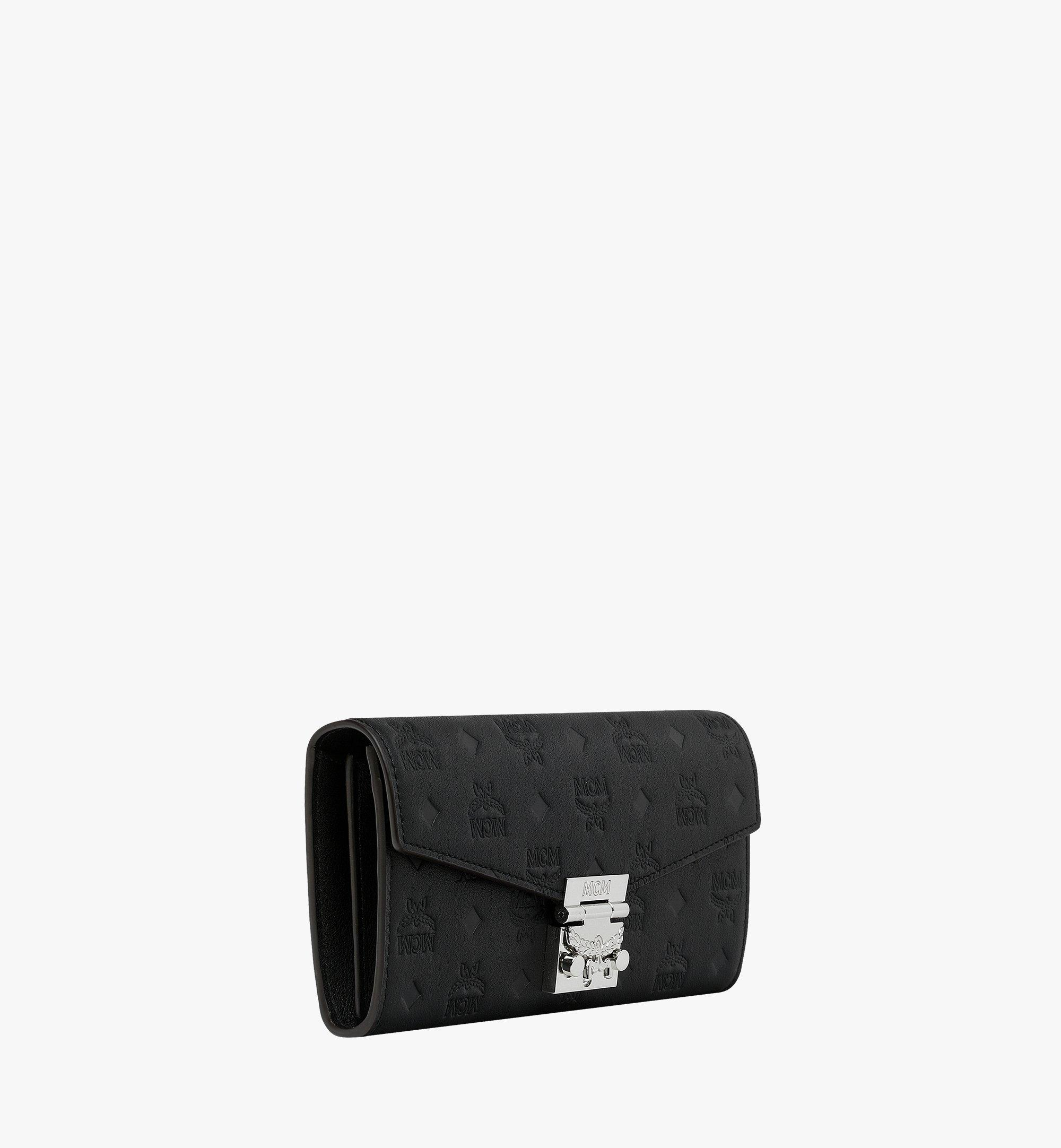 MCM Patricia Crossbody Wallet in Monogram Leather Black MYL9SPA55BK001 Alternate View 1