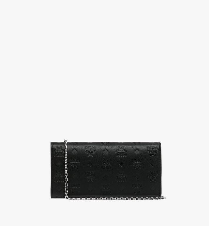 MCM Patricia Crossbody Wallet in Monogram Leather Black MYL9SPA55BK001 Alternate View 3
