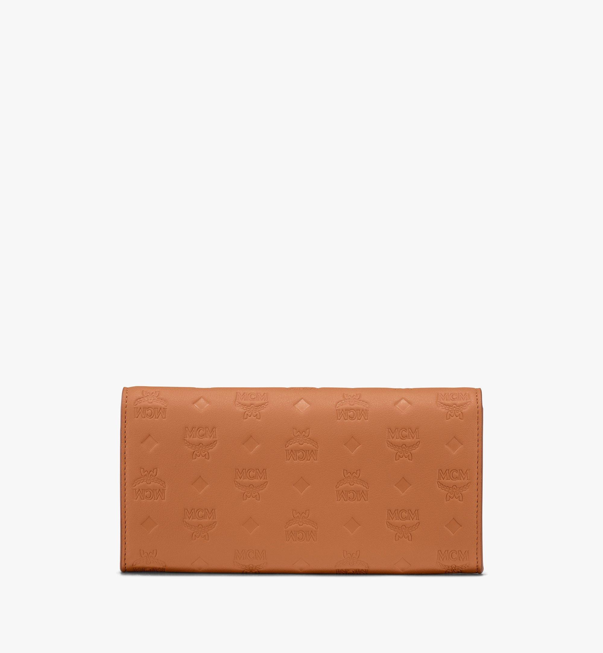 MCM Patricia Crossbody Wallet in Monogram Leather Cognac MYL9SPA55CO001 Alternate View 2