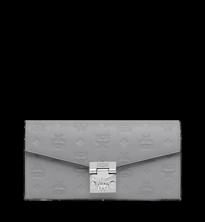 MCM Patricia Crossbody Wallet in Monogram Leather MYL9SPA55IV001 AlternateView