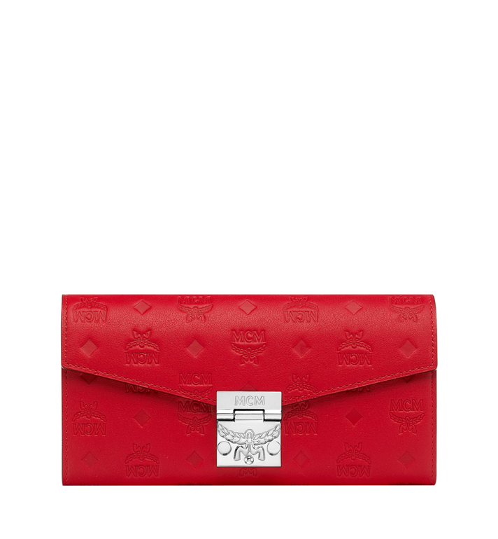 MCM Patricia Two-Fold Wallet in Monogram Leather Alternate View