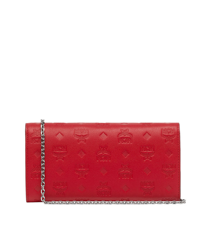 MCM Patricia Two-Fold Wallet in Monogram Leather Alternate View 3