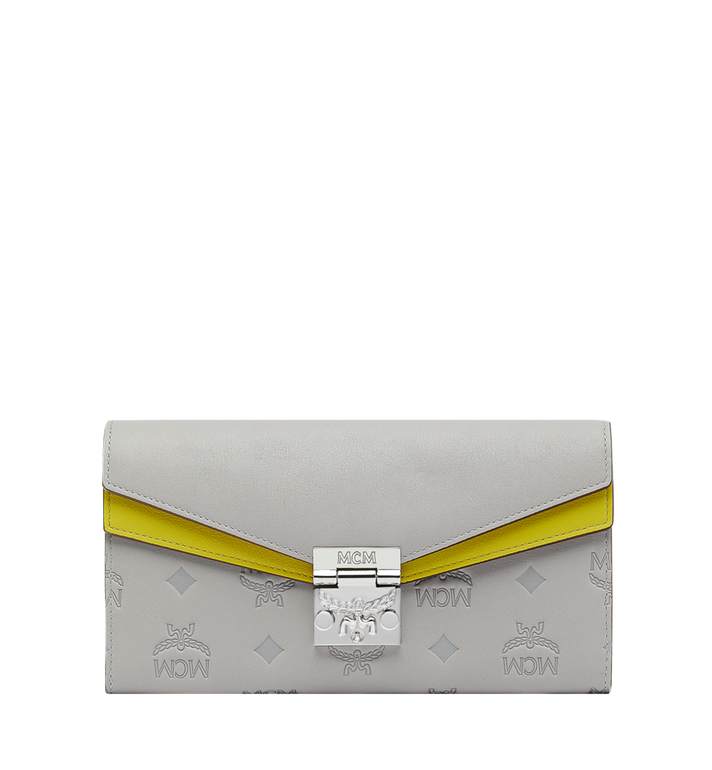 MCM Patricia Crossbody Wallet in Monogram Leather MYL9SPA57IV001 AlternateView
