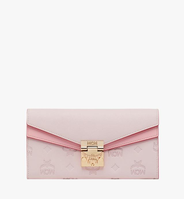Patricia Crossbody Brieftasche aus Leder mit Monogramm