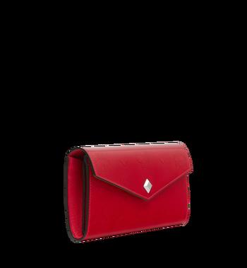 MCM Gefaltete Brieftasche aus Lackleder mit Monogramm Alternate View 2