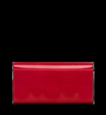 MCM Gefaltete Brieftasche aus Lackleder mit Monogramm Alternate View 3
