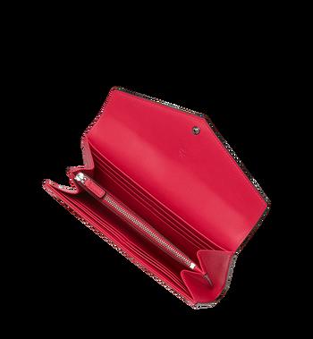 MCM Gefaltete Brieftasche aus Lackleder mit Monogramm Alternate View 4