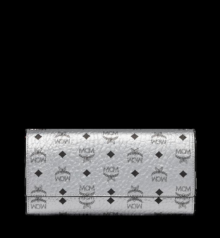 MCM Three Fold Wallet in Visetos Original MYL9SVI48SB001 AlternateView