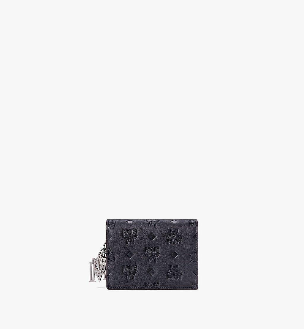 MCM Klara Crossbody Wallet in Monogram Leather Black MYLAAKM02BK001 Alternate View 1