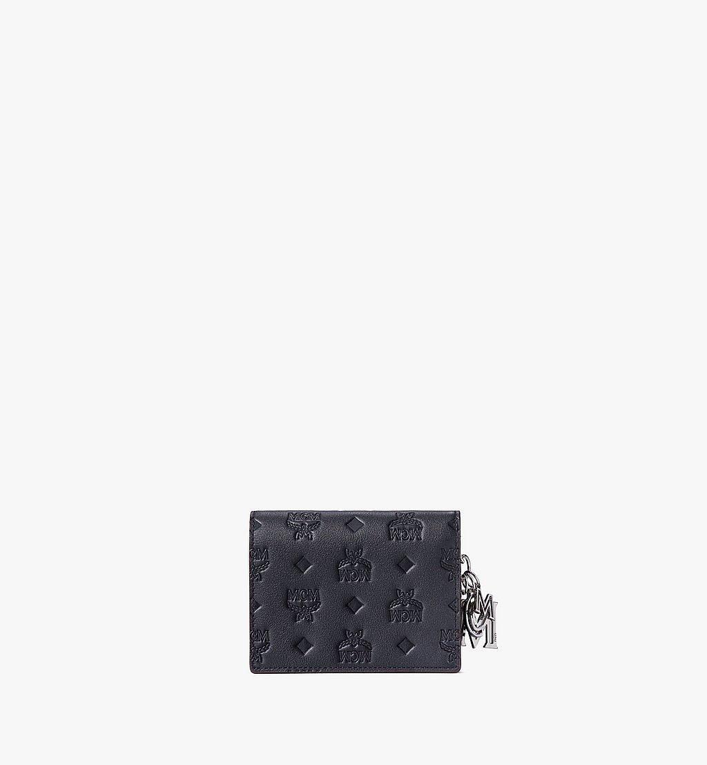 MCM Klara Crossbody Wallet in Monogram Leather Black MYLAAKM02BK001 Alternate View 2