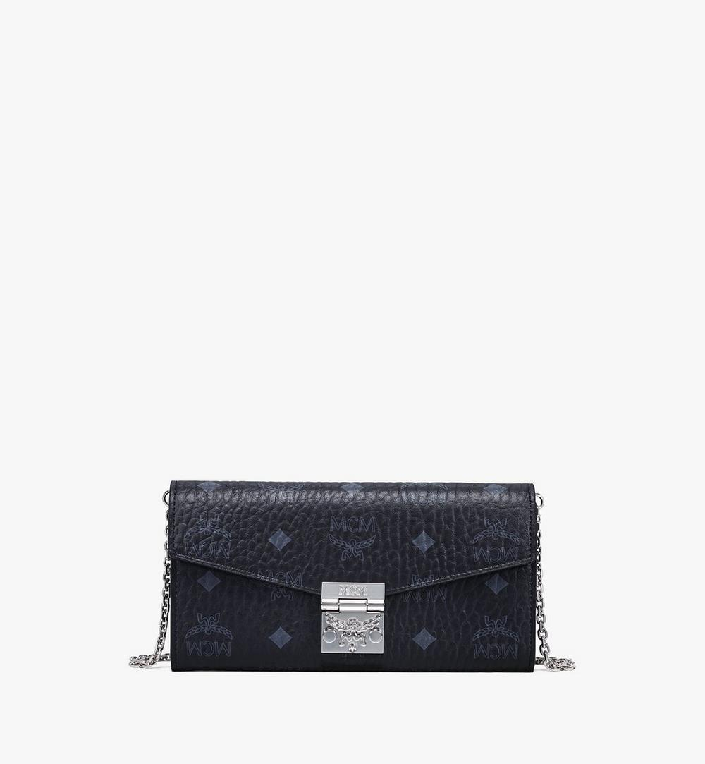 Patricia Crossbody Wallet in Visetos 1