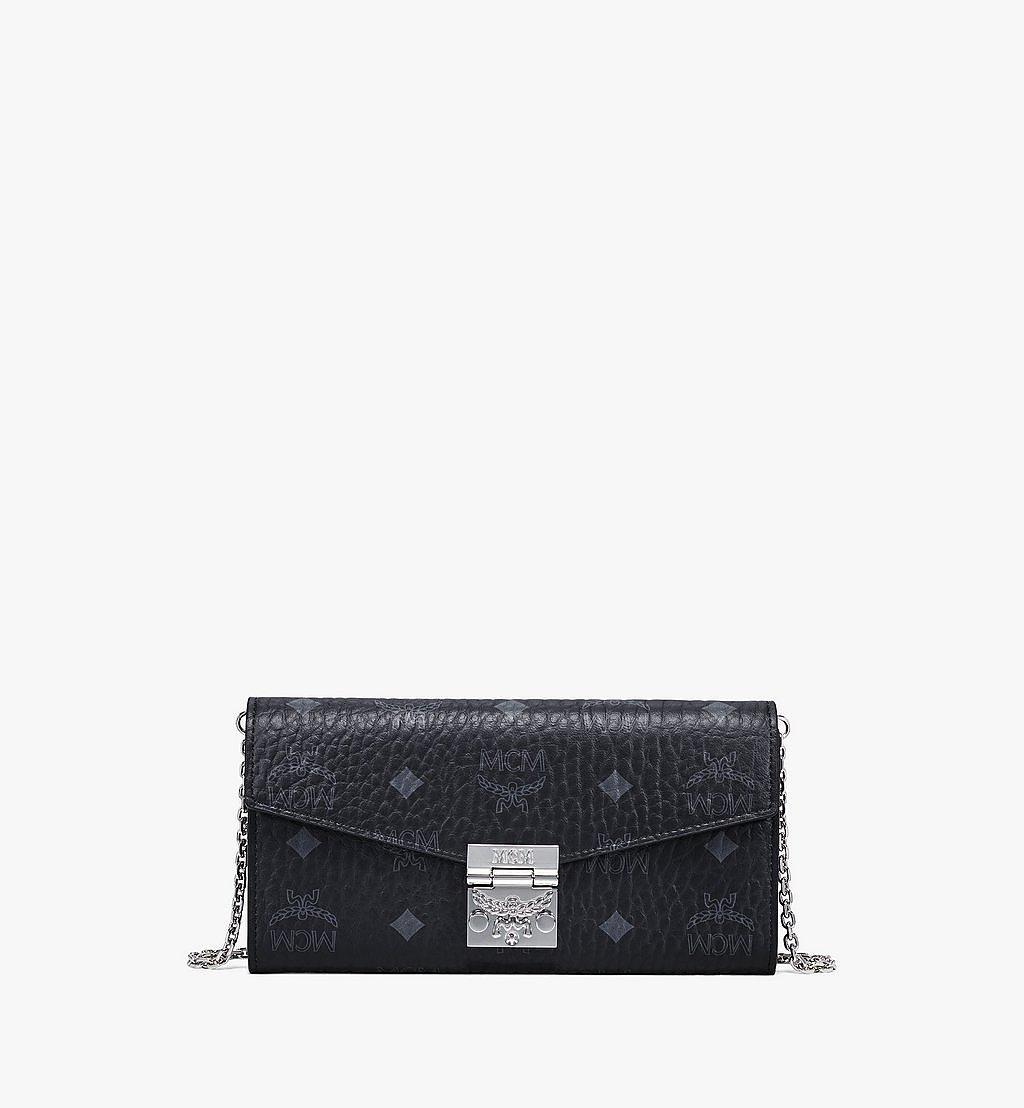 MCM Patricia Crossbody-Brieftasche in Visetos Black MYLAAPA02BK001 Noch mehr sehen 1