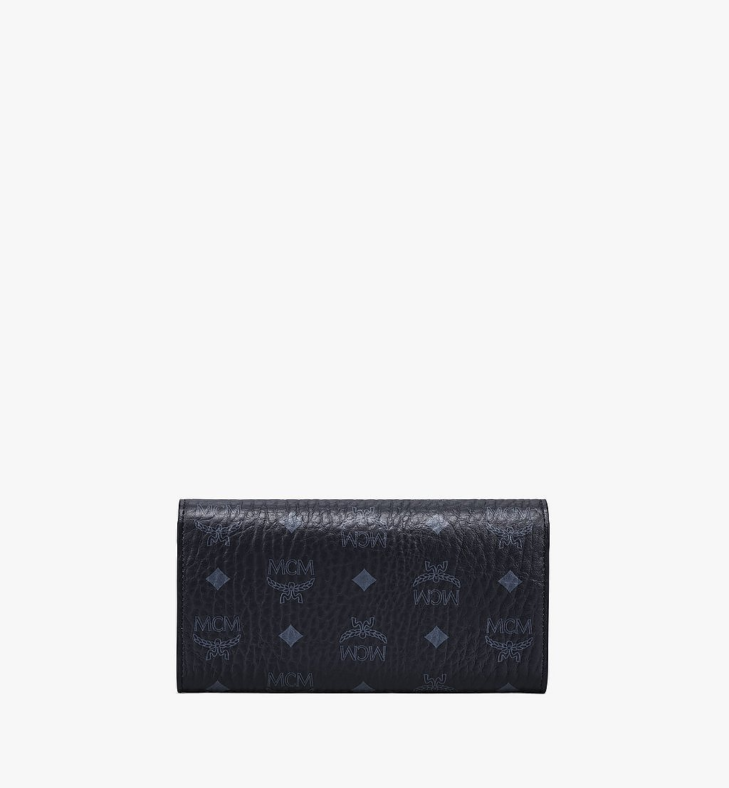 MCM Patricia Crossbody-Brieftasche in Visetos Black MYLAAPA02BK001 Noch mehr sehen 3