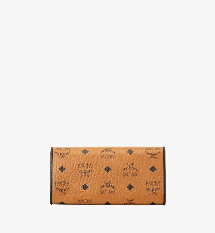 MCM Patricia Crossbody Wallet in Visetos Leather Block Cognac MYLAAPA04CO001 Alternate View 3