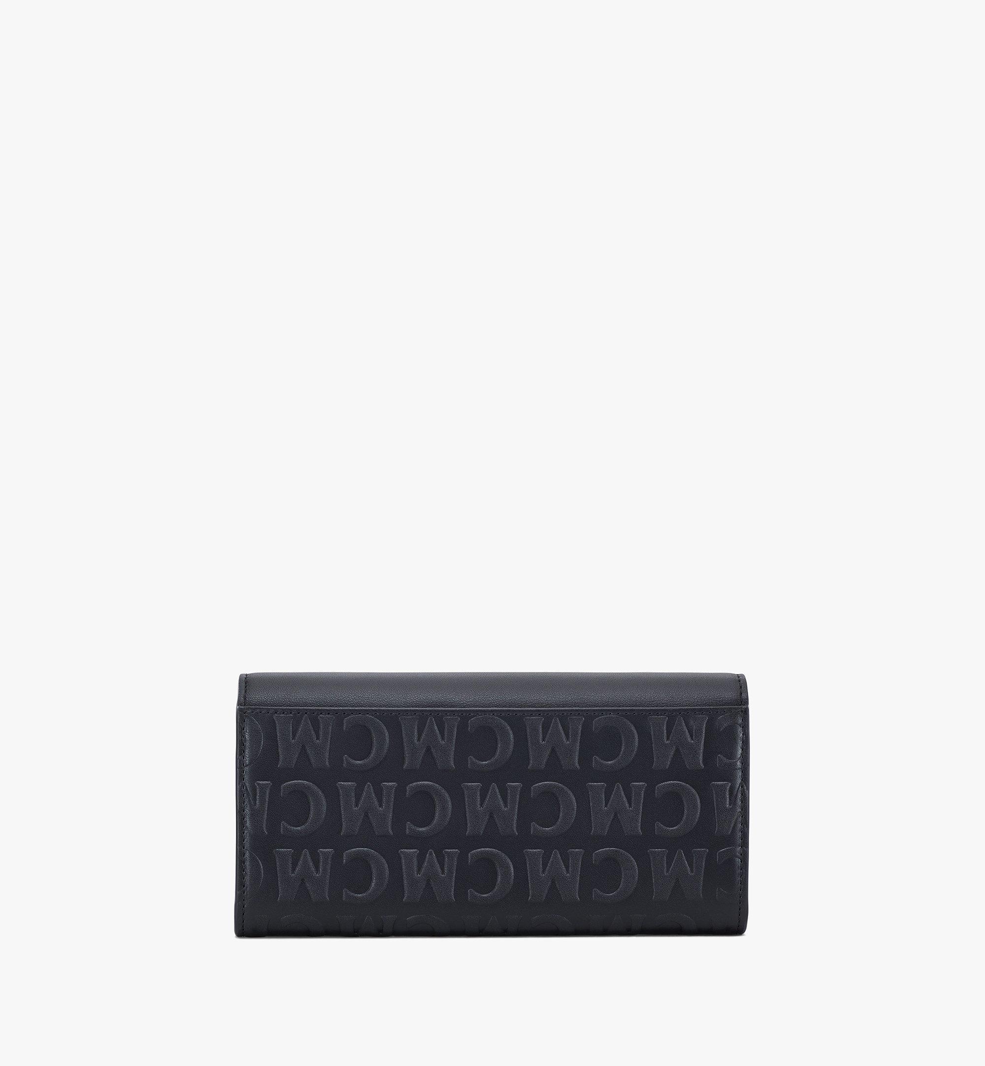 MCM Patricia Crossbody Wallet in MCM Monogram Leather Black MYLAAPA05BK001 Alternate View 2