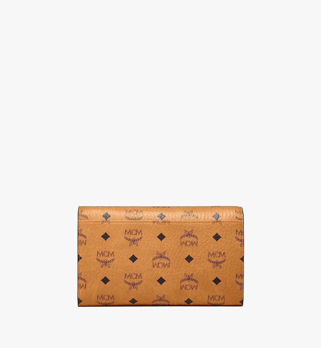 MCM Kontinentale Patricia Crossbody-Brieftasche in Visetos Red MYLAAPA07CO001 Noch mehr sehen 2