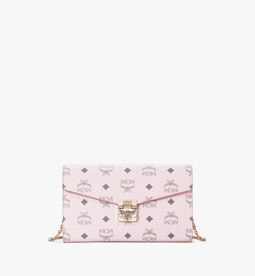 Kontinentale Patricia Crossbody-Brieftasche in Visetos