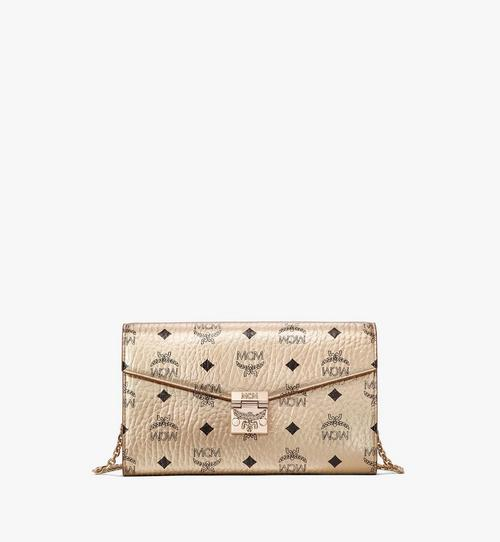 Patricia Crossbody Continental Wallet in Visetos