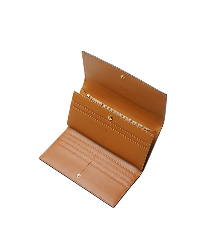 MCM Trifold Wallet in Visetos Original Cognac MYLAAVI01CO001 Alternate View 4