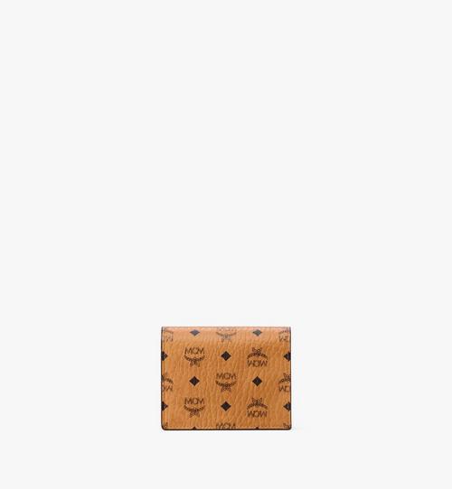 Flache Crossbody-Brieftasche für Karten in Visetos Original