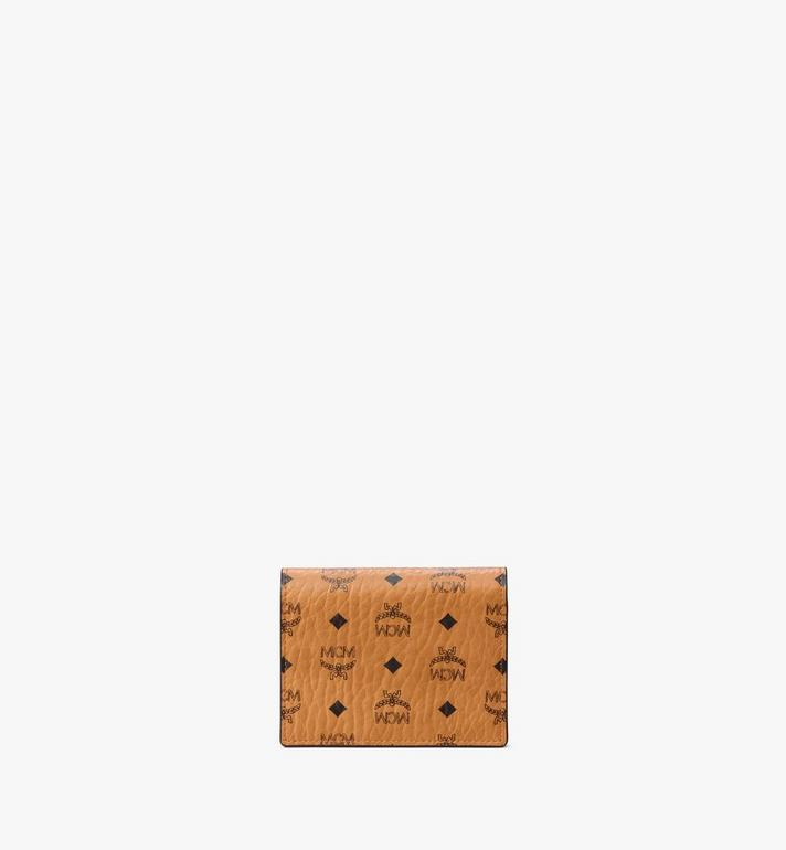 MCM Chain Wallet in Visetos Original Cognac MYLAAVI02CO001 Alternate View 3