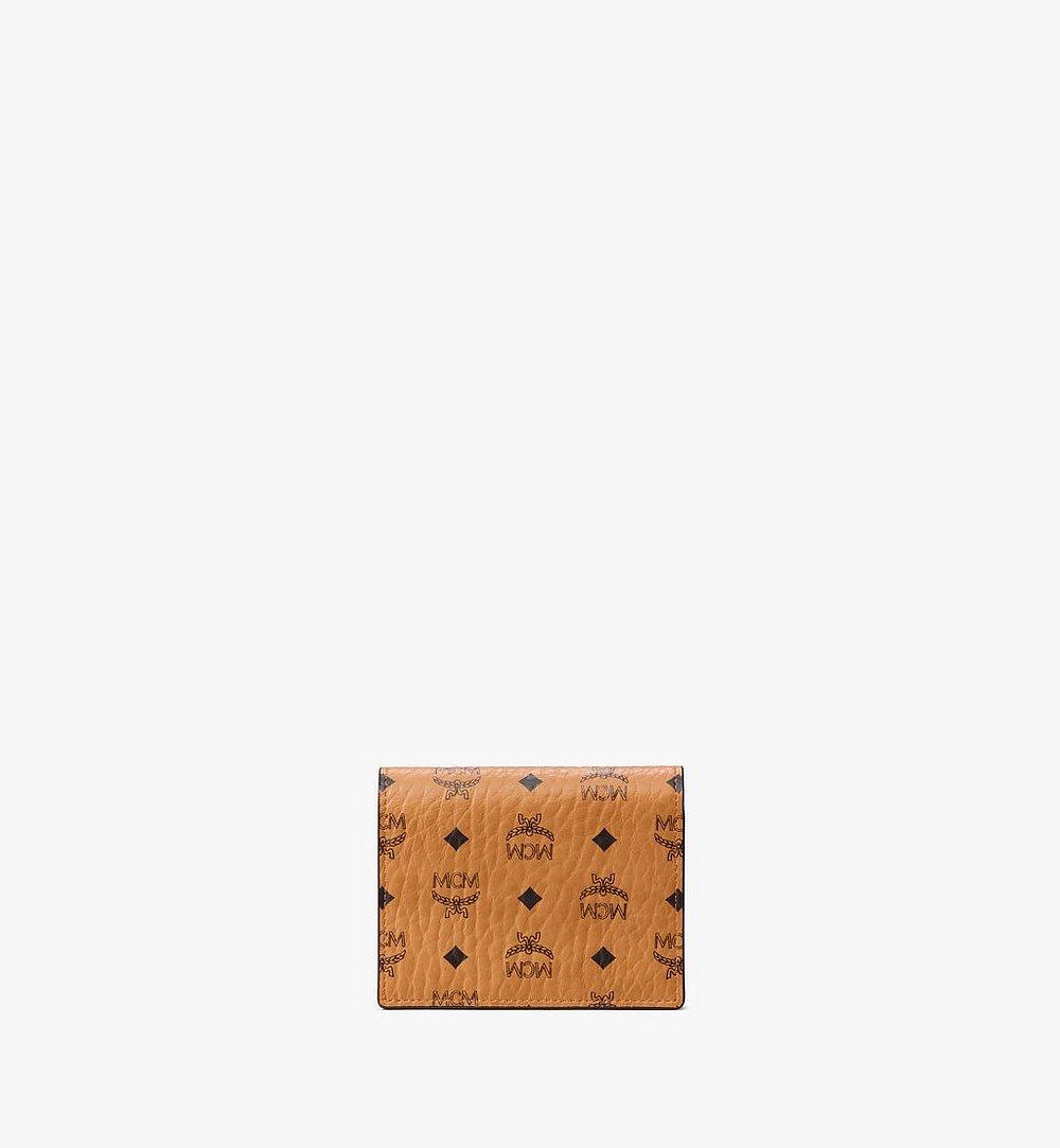 MCM Crossbody Wallet in Visetos Original Black MYLAAVI02CO001 Alternate View 2