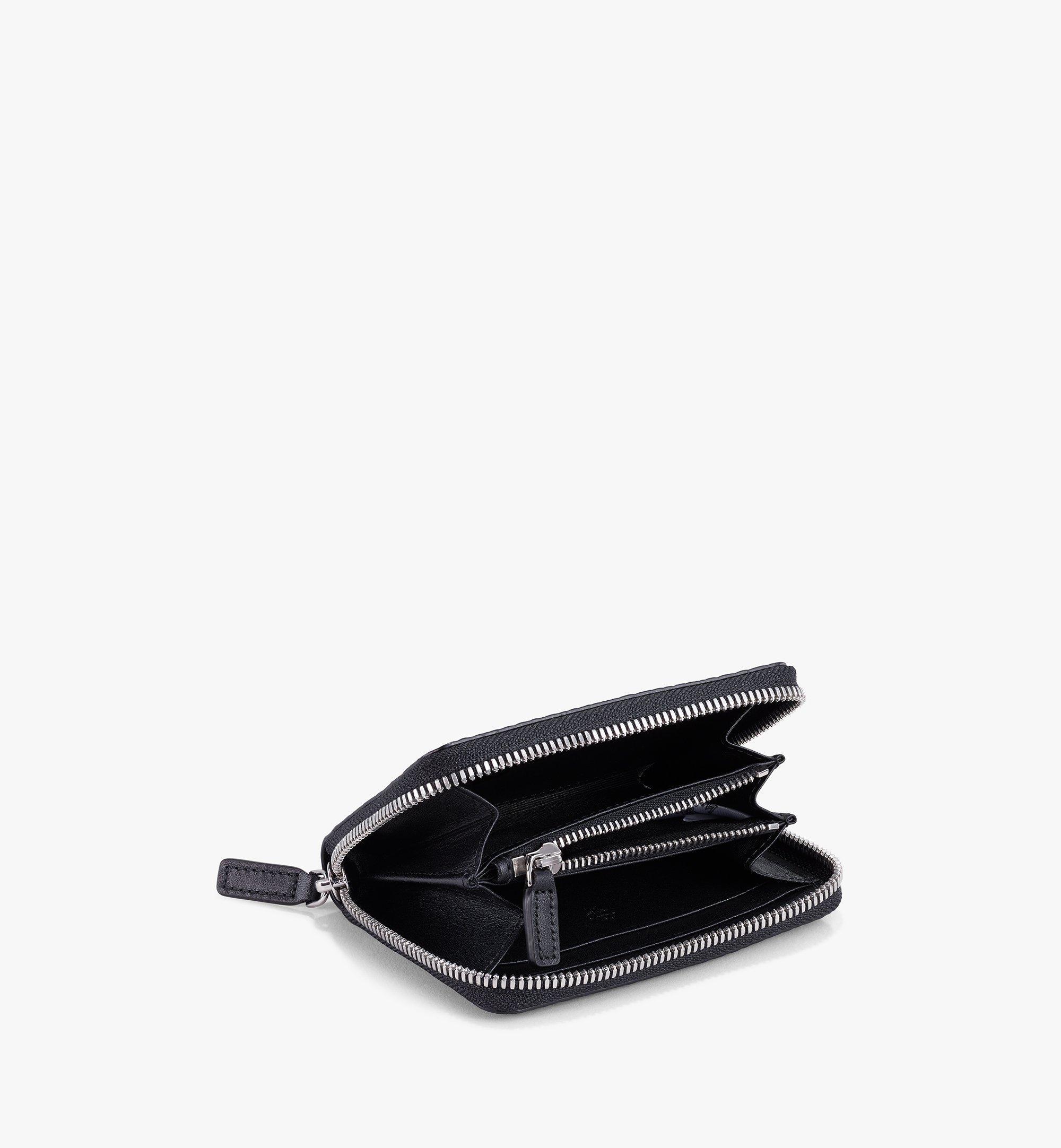 MCM Brieftasche in Visetos Original mit Reissverschluss Black MYLAAVI03BK001 Noch mehr sehen 1