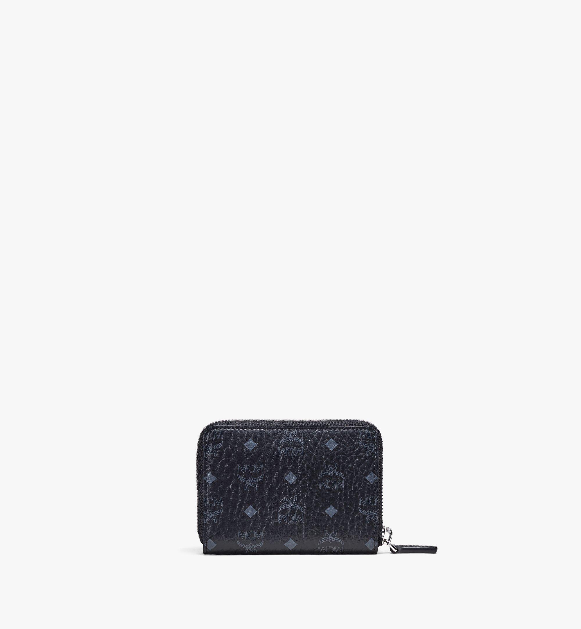 MCM Brieftasche in Visetos Original mit Reissverschluss Black MYLAAVI03BK001 Noch mehr sehen 2