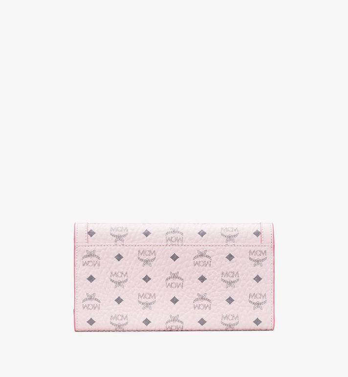 MCM Berlin Series Crossbody Wallet in Visetos Pink MYLASBN01QH001 Alternate View 2
