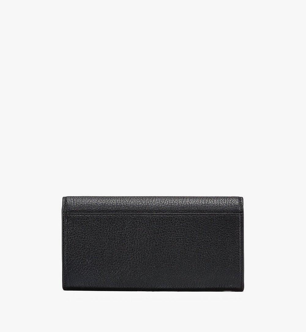MCM Milano Crossbody Wallet in Goatskin Leather Black MYLASDA01BK001 Alternate View 1