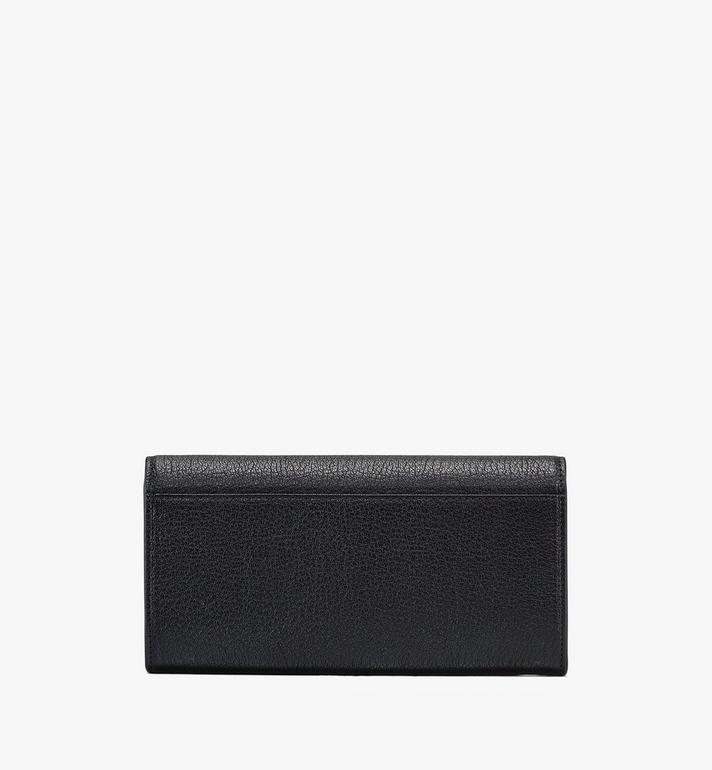 MCM Milano Crossbody Wallet in Goatskin Leather Black MYLASDA01BK001 Alternate View 2