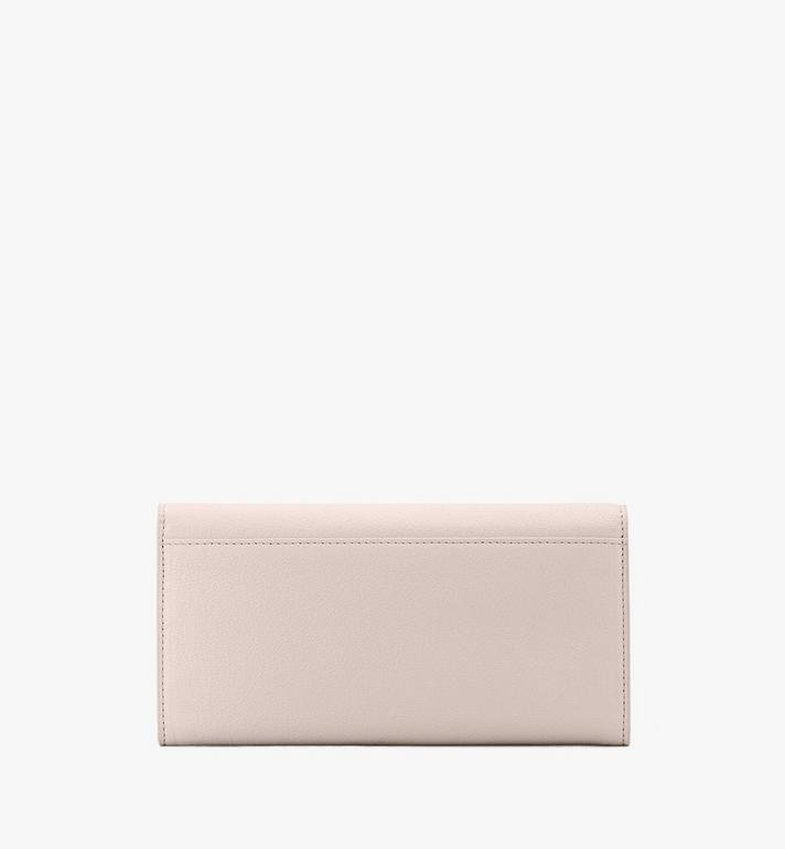 MCM Milano Crossbody Wallet in Goatskin Leather Pink MYLASDA01IH001 Alternate View 2