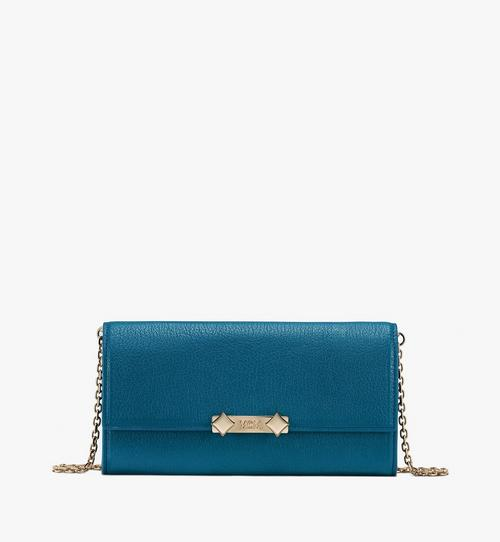 Milano Crossbody Wallet in Goatskin Leather