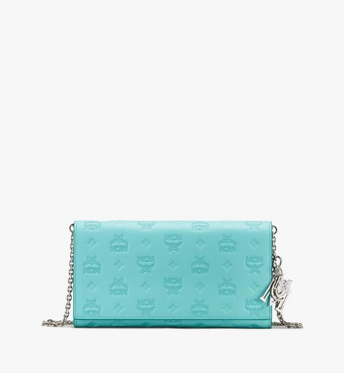 Klara Chain Wallet in Monogram Leather