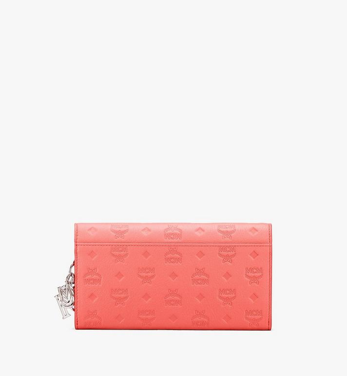 MCM Klara Chain Wallet in Monogram Leather Red MYLASKM01O3001 Alternate View 2