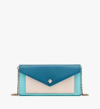 MCM Love Letter Crossbody Wallet in Park Avenue Leather Alternate View