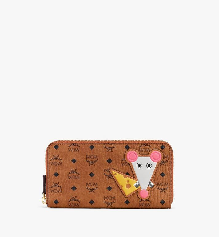 MCM Chinese New Year Zip Wallet Alternate View