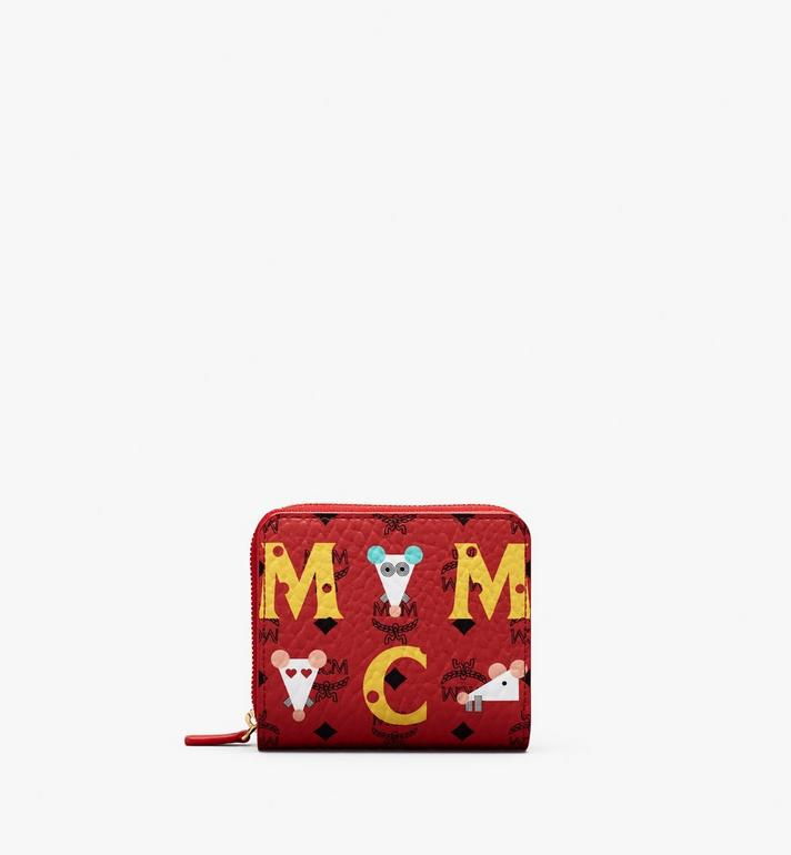 MCM Year Of The Mouse Mini Zip Wallet Alternate View