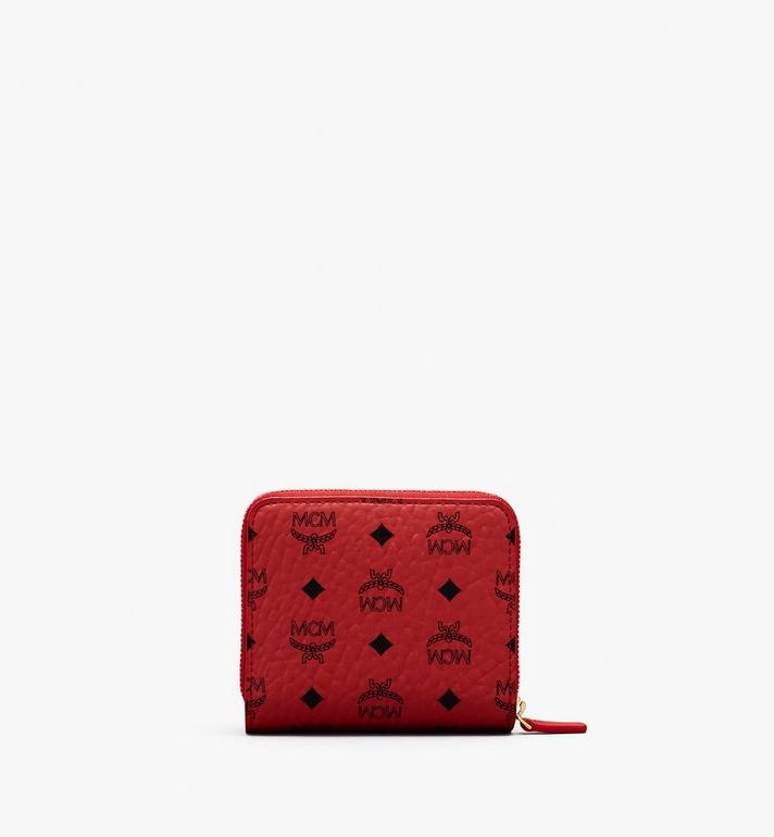 MCM Year Of The Mouse Mini Zip Wallet Red MYLASXL03RJ001 Alternate View 2