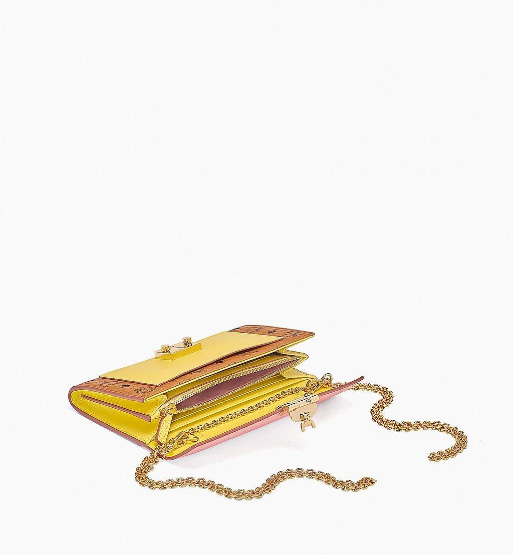 MCM Patricia Crossbody-Brieftasche mit Lederblock-Visetos Pink MYLBSPA01O8001 Noch mehr sehen 1