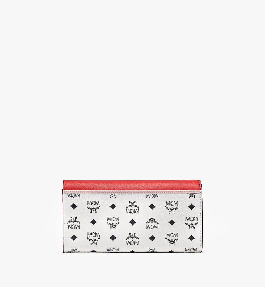 MCM Patricia Crossbody-Brieftasche mit Lederblock-Visetos Pink MYLBSPA01R4001 Noch mehr sehen 2