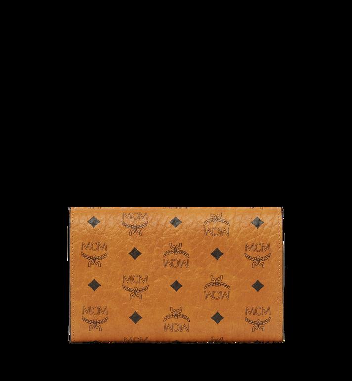 MCM Three Fold Wallet in Visetos Original MYM8SVI49CO001 AlternateView3
