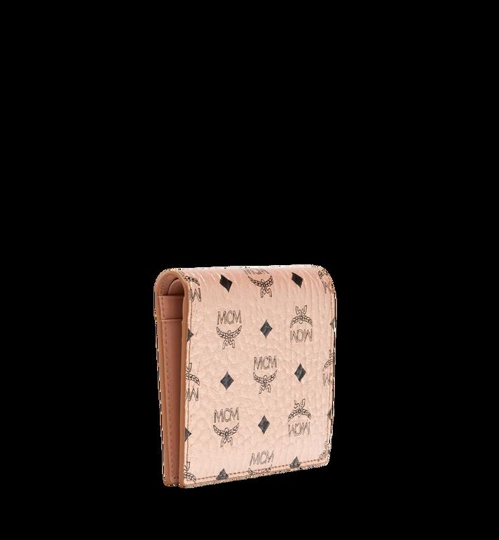 MCM Two Fold Flat Wallet in Visetos Original MYS8AVI94TC001 AlternateView2