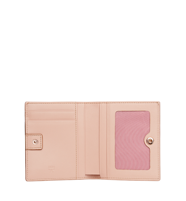 MCM Two Fold Flat Wallet in Visetos Original MYS8AVI94TC001 AlternateView4