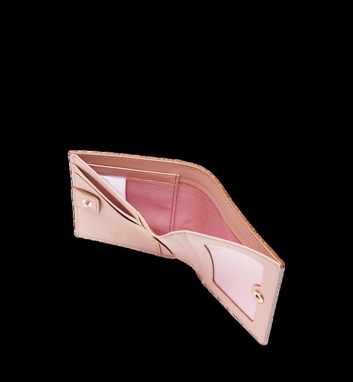 MCM Two Fold Flat Wallet in Visetos Original Alternate View 5