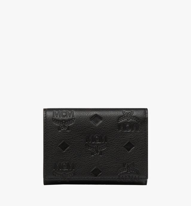 Klara Three Fold Coin Case in Monogram Leather