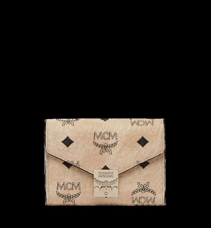 MCM Patricia Three Fold Wallet in Visetos MYS8SPA13IG001 AlternateView