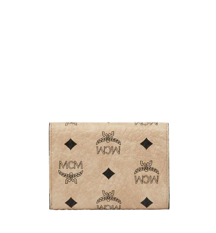 MCM Patricia Three Fold Wallet in Visetos MYS8SPA13IG001 AlternateView3