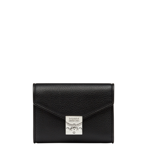 Patricia Three Fold Wallet in Leather