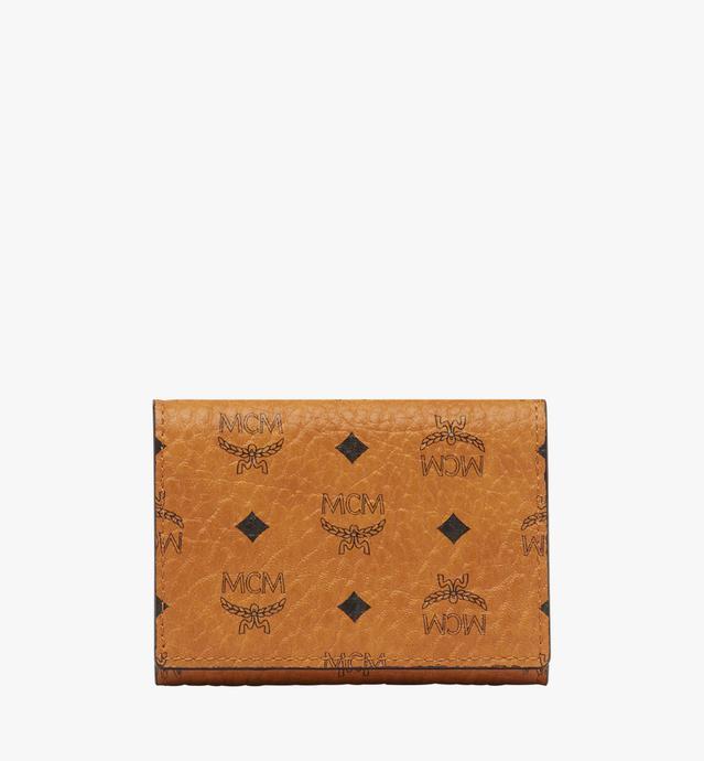 Three Fold Coin Wallet in Visetos Original